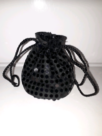 LADIES SEQUIN SPOT BAG
