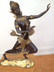 Indian or Balinese Godess Statue
