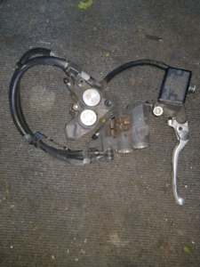 yamaha brake & clutch leavers front calipers throttle and cable Calamvale Brisbane South West Preview