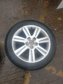Audi a4 alloy wheels 17 inch