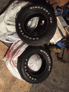 235/60/R14 rwl firestone tires