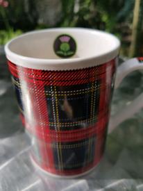 CHARITY SWAP Scotland souvenir tartan mug