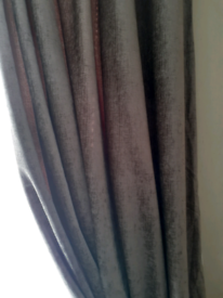 90 X 90 beige curtains