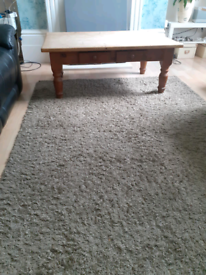 Recycled pine wood coffee table