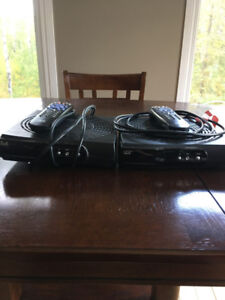 2 Bell Receivers and Dish