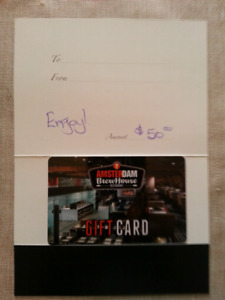 Amsterdam brewhouse gift card