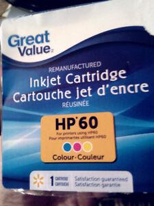 ENCRE TRICOLOR HP 60  15$ Négo.