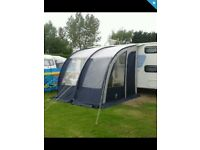 Blue sunncamp 260 porch awning