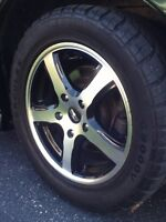 5 bolt patten sport rims and tires NEW PRICE 16 inch