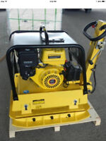 BRAND NEW LONCIN MS330E REVERSIBLE PLATE COMPACTOR!!!
