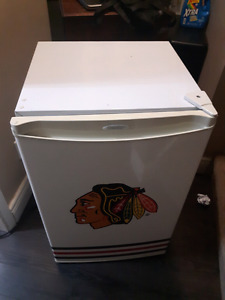 Chicago Blackhawks Bar Fridge