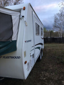 Hybrid camping trailer for sale or trade for...