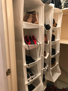 Canvas Hanging Shoe Organizers