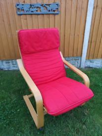 Ikea poange armchair