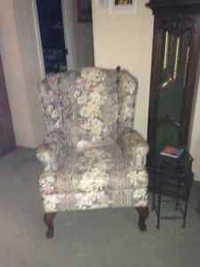 Chesterfield & Wing Chair Kawartha Lakes Peterborough Area image 2