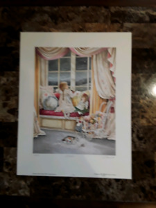 "Lovely Shirley Deaville ""I Wish"" limited edition print"
