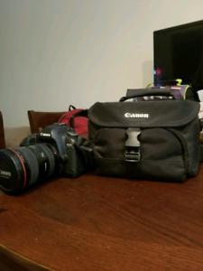 Canon 5D mark ii with 17-40mm lens package