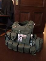 Plate molle quick realease 300$