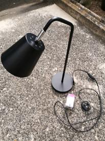 Matt Black Table/Desk Lamp