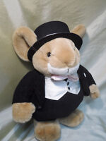 Handsome 15 inch Mouse in a TUXEDO $5.00