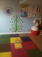 Garderie subventionnée une place disponible pour enfant 18 mois+