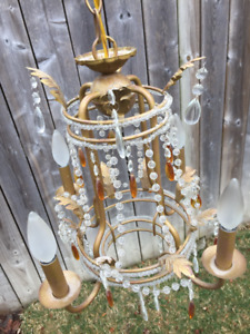 Vintage French Empire Chandelier