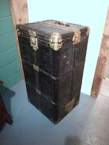 Hartman Gibralterized  Steamer  Trunk-1920's