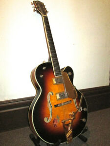 1958 Gretsch Country Club with trestle bracing
