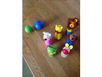 Kids skittles toy