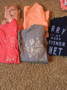Size 10 girls long sleeved tees