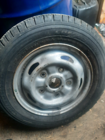 Ford transit 195/70 r15 wheel and tyre