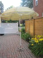 Outdoor Umbrella and Stand