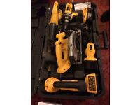 Dewalt tool kit 5 piece bargain in box