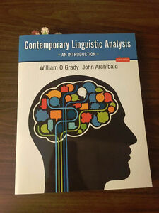 Contemporary Linguistic Analysis an Introduction 8th edition