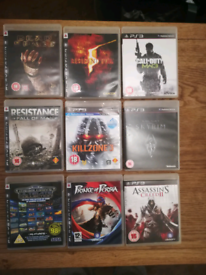 PS3 x9 game's ,£60 for all