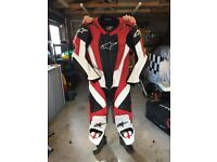 Alpinestars rc1 leathers in excellent condition
