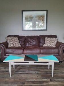 Refinished Wood Coffee Table