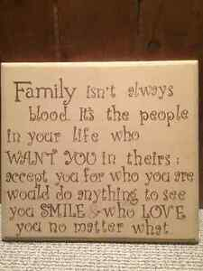 Family quote picture London Ontario image 1