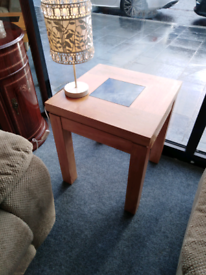 Quality oak side table