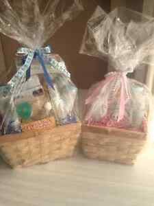 Baby product gift basket