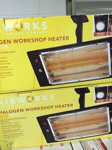Halogen workshop heaters