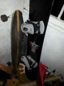 Selling my snowboard and bindings
