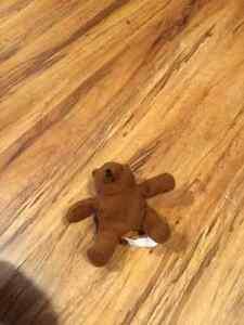 Stuffed bear keychain