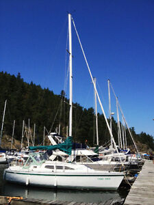 10% share in 30' sailboat Co-op North Shore Greater Vancouver Area image 1