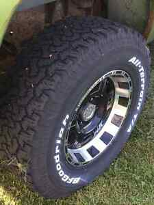 Pro Comp Extreme Rims with BFGoodrich KO tires