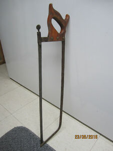 Very OLD HAND MEAT SAW.