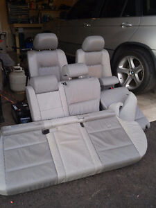 BMW X5 leather seats complete