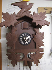 Small Cuckoo clock, serviced and in mint condition.