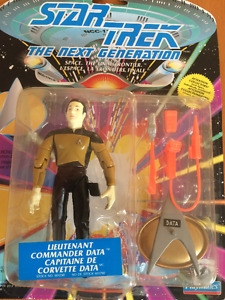 Star Trek TNG Figures Mint in Box