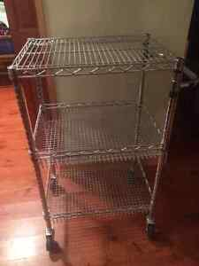 Chrome Metal Bakers Rack
